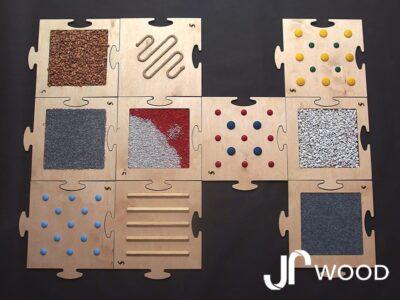 Senzomotorický koberec - bosá stezka