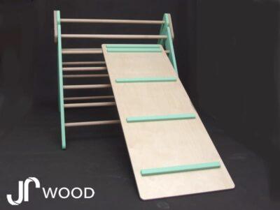 Trojúhelník Piklerové - lavice stupně